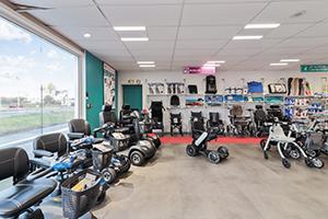 Bastide le Confort Médical Toulouse dispositifs médicaux interieur magasin scooters